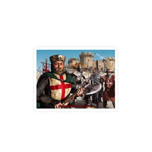 استیکر لپ تاپ جنگهای صلیبی - عمو ریچارد و رفقا!