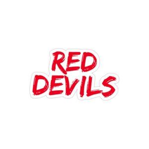استیکر لپ تاپ شیاطین سرخ