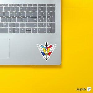 استیکر لپ تاپ جنرال - لوگوی بازی روی لپتاپ