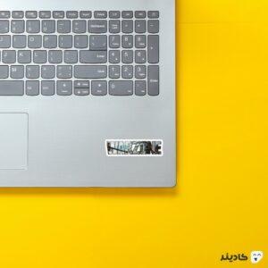 استیکر لپ تاپ کال آف دیوتی - لوگوی شفاف بازی روی لپتاپ