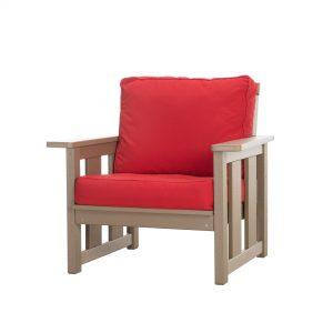Deep Seated Club Chair