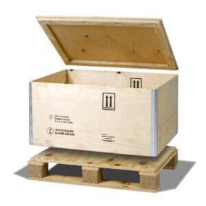 Caisse palette pour produits dangereux RIBOX 61 DG - NO-NAIL BOXES