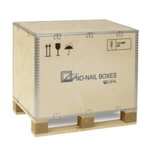 Caisse palette à usage unique ISIBOX 66 - NO-NAIL BOXES