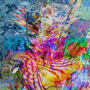 Tela: Mermaid Firtha Artista: Henrique Vieira Filho
