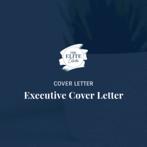 Executive Cover Letter Product Image