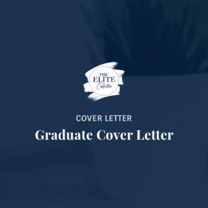 Graduate Cover Letter