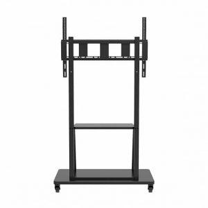 Wize Pro M86 | Напольная стойка с колесами для дисплея весом до 150 кг