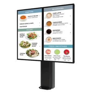 Peerless-AV KOF555-2-EUK | Всепогодная стойка для уличного цифрового меню
