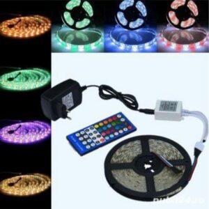 Kit Banda LED RGBW Cu Telecomanda