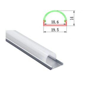 Profil LED Convex 1M