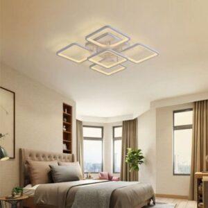 Lustra LED Dimabila Cu 3 Functi 180W+Rgb