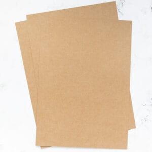 cartulina-suave-color-kraft-A4-materiales-carvado-sellos-ana-sola