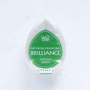 tinta-brilliance-mini-gamma-green-verde-brillante-materiales-carvado-sellos-ana-sola