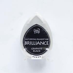 tinta-brilliance-mini-graphite-black-negro-grafito-materiales-carvado-sellos-ana-sola