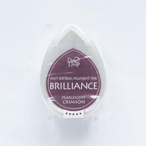 tinta-brilliance-mini-pearlescent-crimson-carmesi-perlado-materiales-carvado-sellos-ana-sola