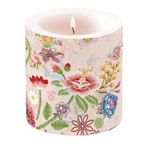 Ambiente kaars Embroidery Flowers Rose