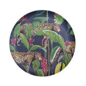 Catchii bamboe ontbijtbord panter wild jungle stories
