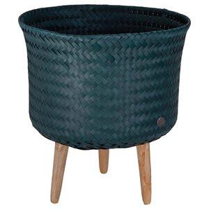 Handed By Up Mid - Plantenstandaard - blauwgroen