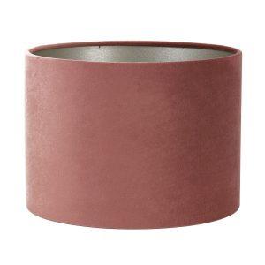 Light & Living lampenkap velours dusky pink (20-20-15 cm)