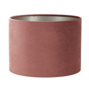 Light & Living lampenkap velours Dusky Pink (25-25-18 cm)