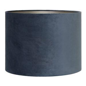 Light & Living lampenkap velours Dusty Blue (30-30-21 cm)