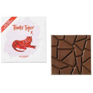 me&mats chocolade thanks tiger