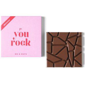 me&mats chocolade you rock