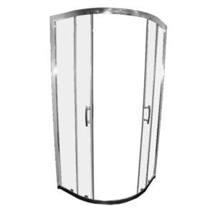 Curved shower door complete Henry Brooks