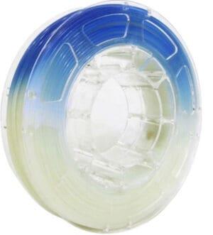 PLA - Temperature Color Change - Blue to Natural - 1.75mm - 1kg