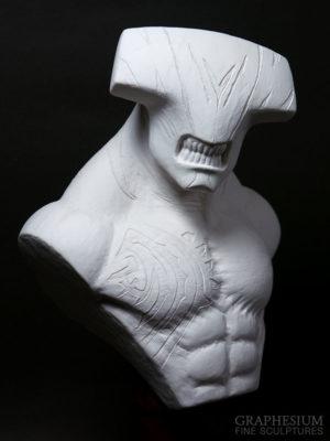 Custom handmade Faceless Void (Dota 2) sculpture / statue / figure by Graphesium (gsculpt)