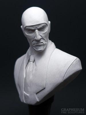 Custom handmade Spy (Team Fortress 2) sculpture / statue / figure by Graphesium (gsculpt)