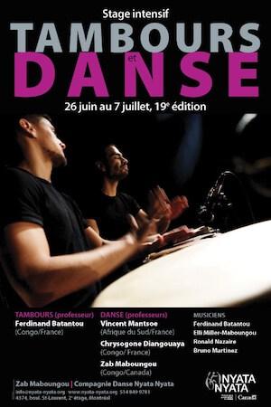 Zab Maboungou/Compagnie Danse Nyata Nyata (Montréal)