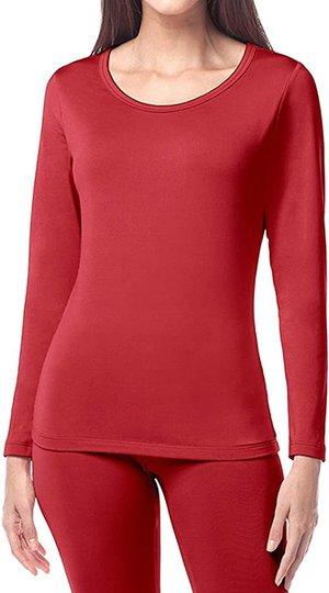 LAPASA thermal underwear top | 40plusstyle.com
