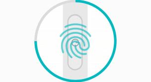 Xperia XZの指紋認証