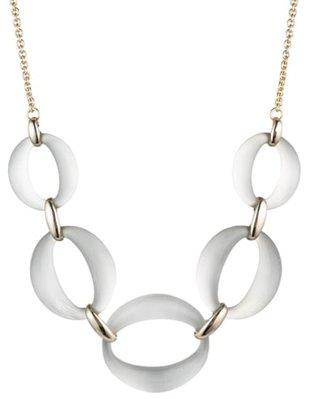 Alexis Bittar link necklace | 40plusstyle.com