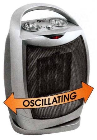 Cheap Personal Oscillating Ceramic Heater