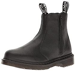 dr. martens women's 2976 chelsea boot with zips