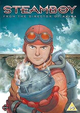 portada de steamboy DVD