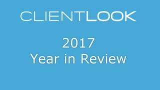 ClientLook CRM 2017 Recap