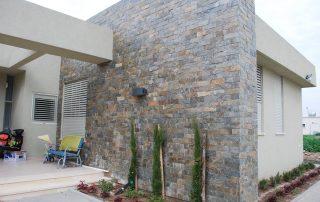 אבן צפחה - חיפוי אבן קיר חיצוני