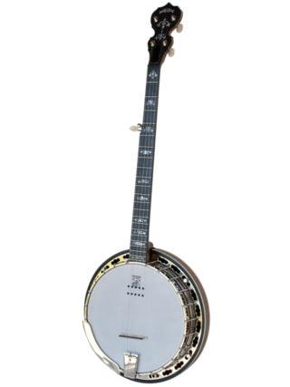 deering sierra acoustic electric banjo