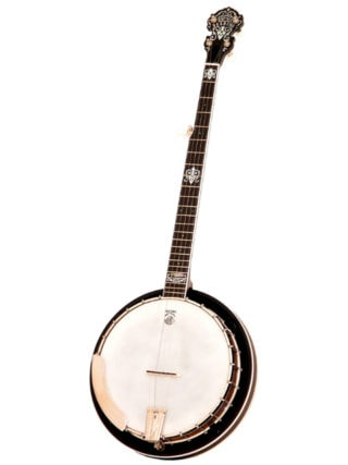 deering john hartford 24 fret 5 string banjo