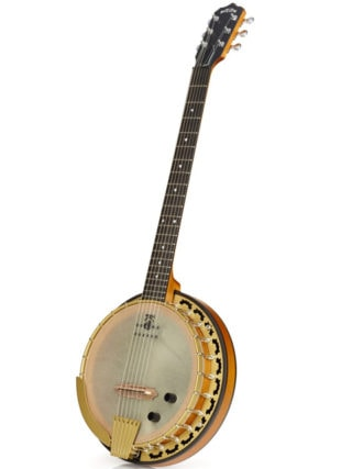 deering phoenix 6 string banjo