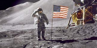 primo uomo sulla Luna