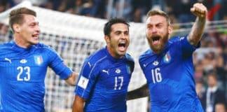 Nazionale italiana a Russia 2018