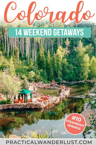 14 destinations for your next Colorado vacation! From romantic weekend getaways to road trips, Colorado is one of the USA's best states for travel and adventure. This list of Colorado places to visit includes hots springs, ski resorts, hiking and more! #colorado #travel