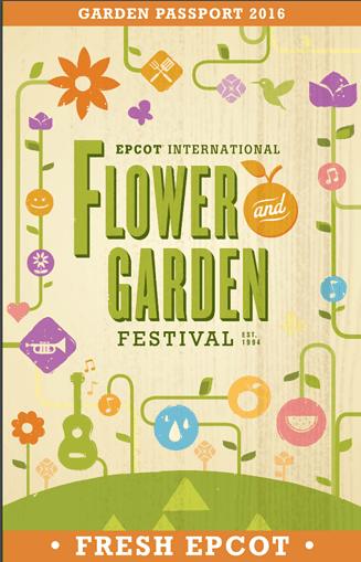 2016 Garden Passport - Epcot International Flower & Garden Festival