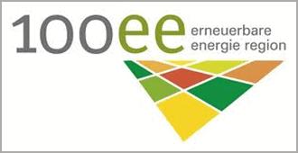 Logo 100 Prozent erneuerbare Energien