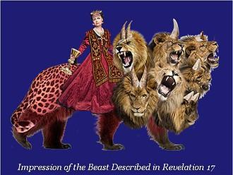 European Beast as seen in Revelations