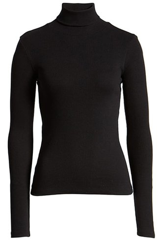 BP. turtleneck ribbed top | 40plusstyle.com